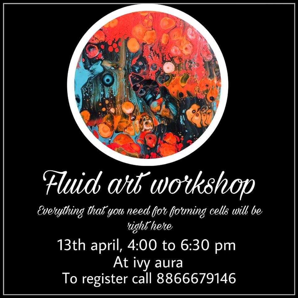 Fluid Art Painting Classes