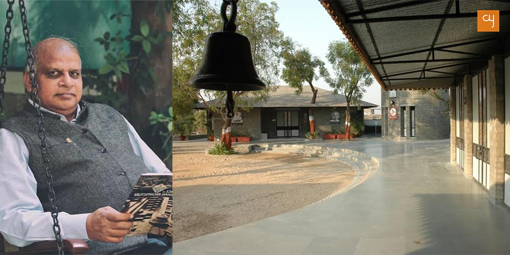This Amdavadi architect has been using waste materials in architecture for 34 years