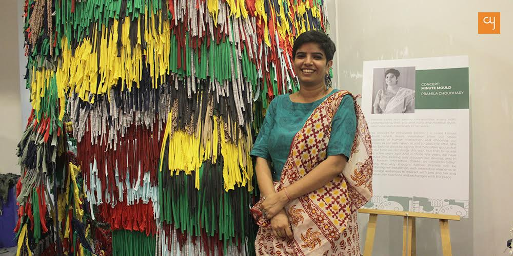 arts, abhivyakti, Pramila Choudhary, Minute Mold