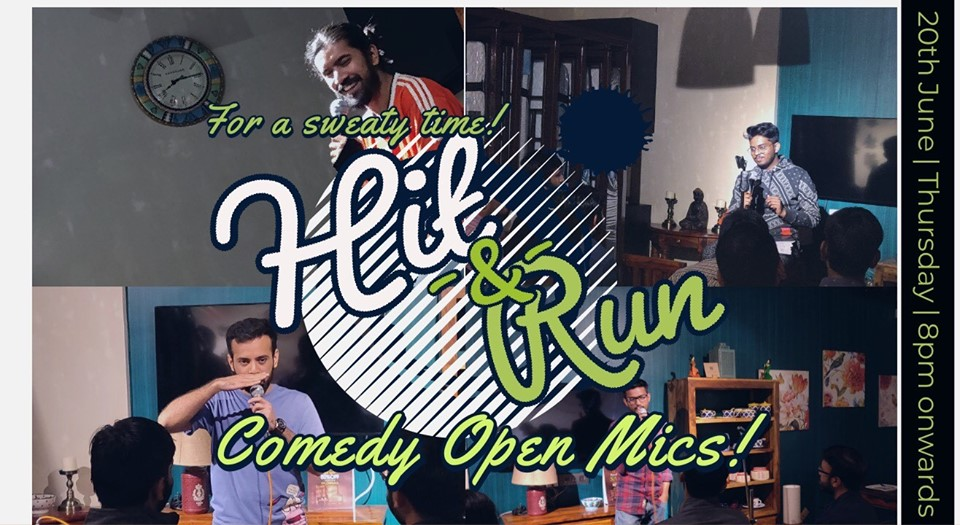 Simple Exhibition Stand Up Comedy : Hit&run 53.0 stand up comedy open mic at studio pepperfry
