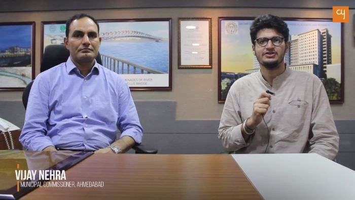 Ahmedabad Municipal Commissioner Vijay Nehra talks to CY about civic initiatives