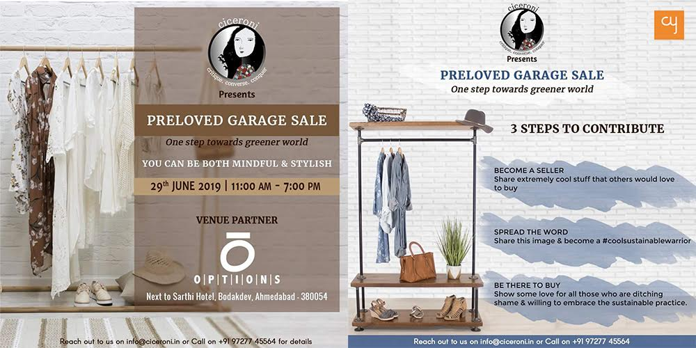 Details of Ciceroni's Preloved Garage Sale