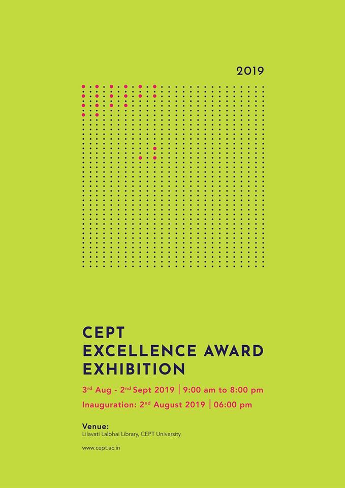 CEPT Excellence Award Exhibition