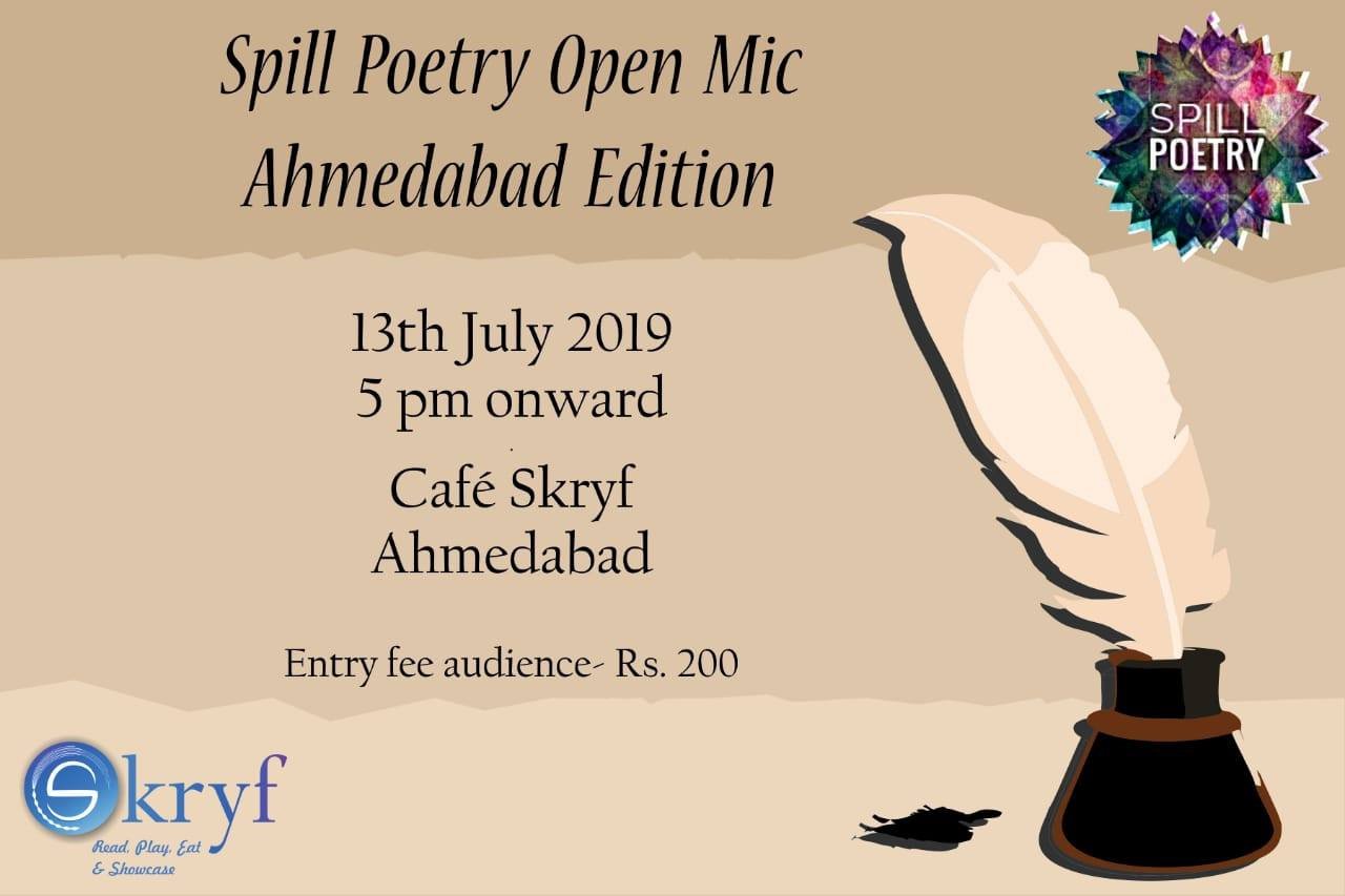 Open Spill MicAhmedabad Poetry Spill Edition Poetry TKJF3l1c