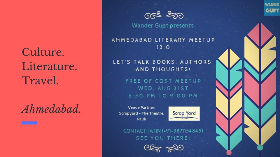 12th Literary Meetup - Ahmedabad Melting Pot