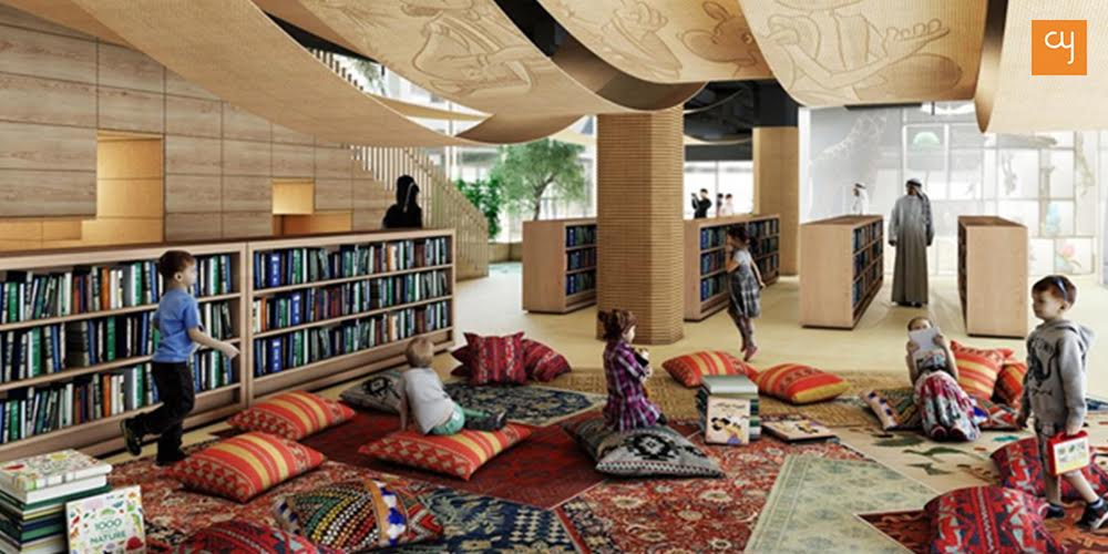 Abu Dhabi government makes space for an engaging Children's Library