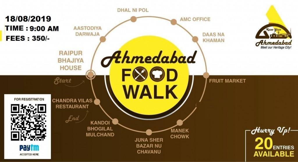 Ahmedabad Food Walk (KYA - Know Your Ahmedabad)