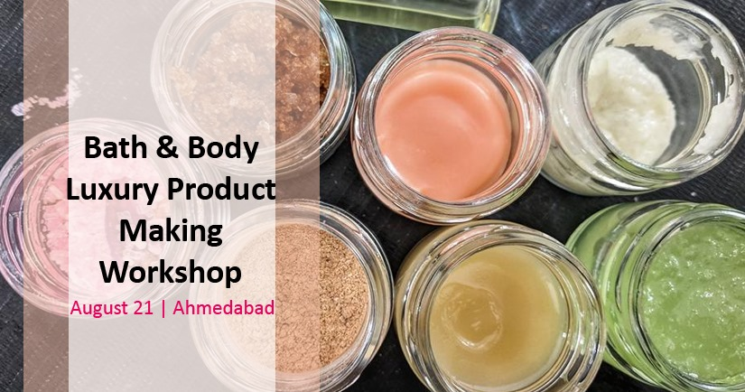 Bath & Body Luxury Product Making Workshop