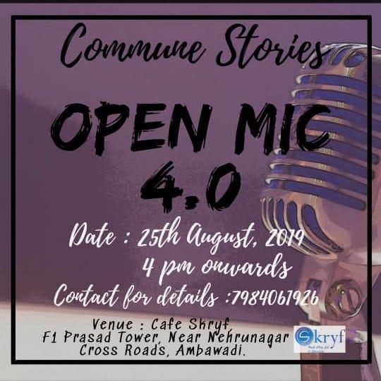 Commune Stories Open Mic 4.0