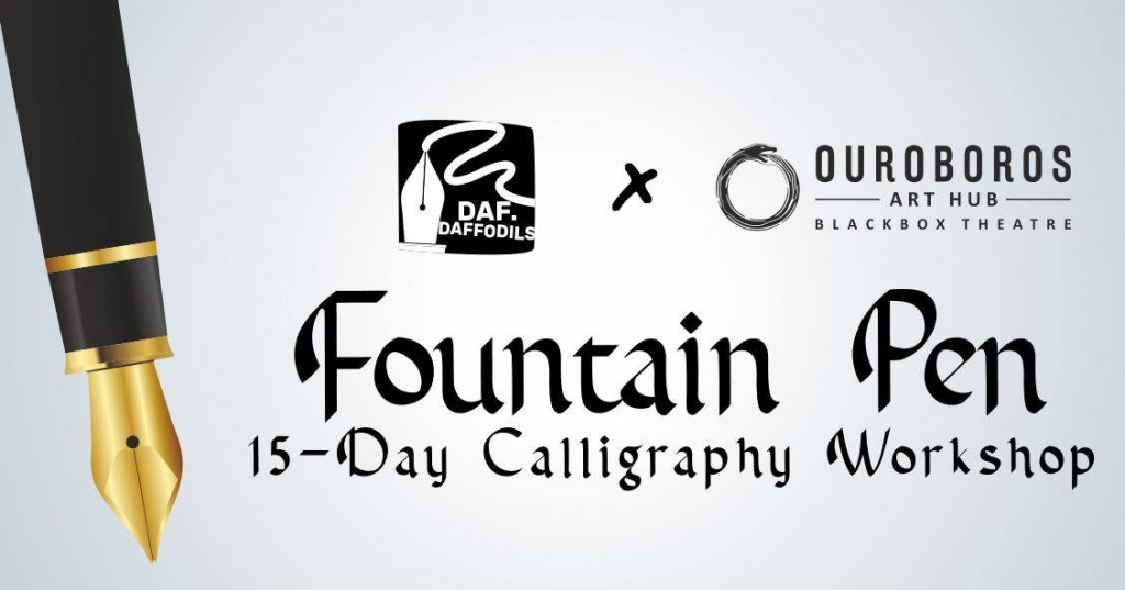 Fountain Pen Calligraphy Workshop