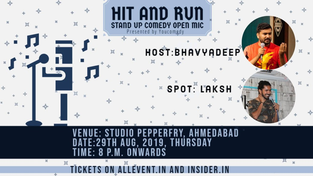 Hit&Run 63.0 - Stand-up comedy open mic