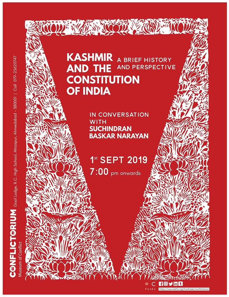 Kashmir and the Constitution of India with Suchindran Narayan