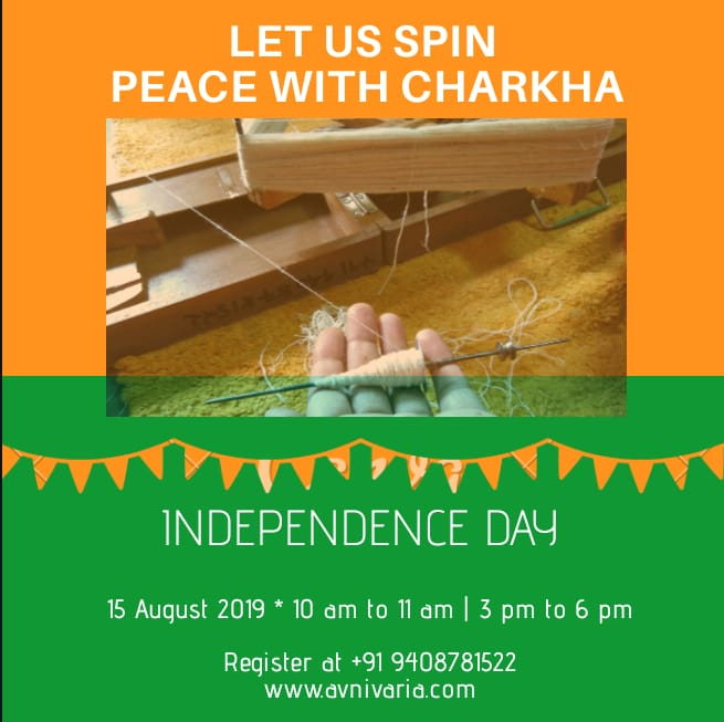 Let Us Spin - Peace With Charkha