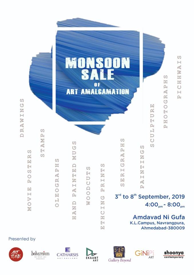 MONSOON Sale of Art Amalgamation - Events In Ahmedabad
