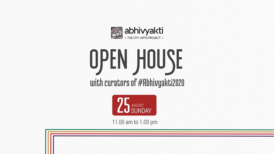 OPEN HOUSE with curators of Abhivyakti City Arts Project, Ahmedabad
