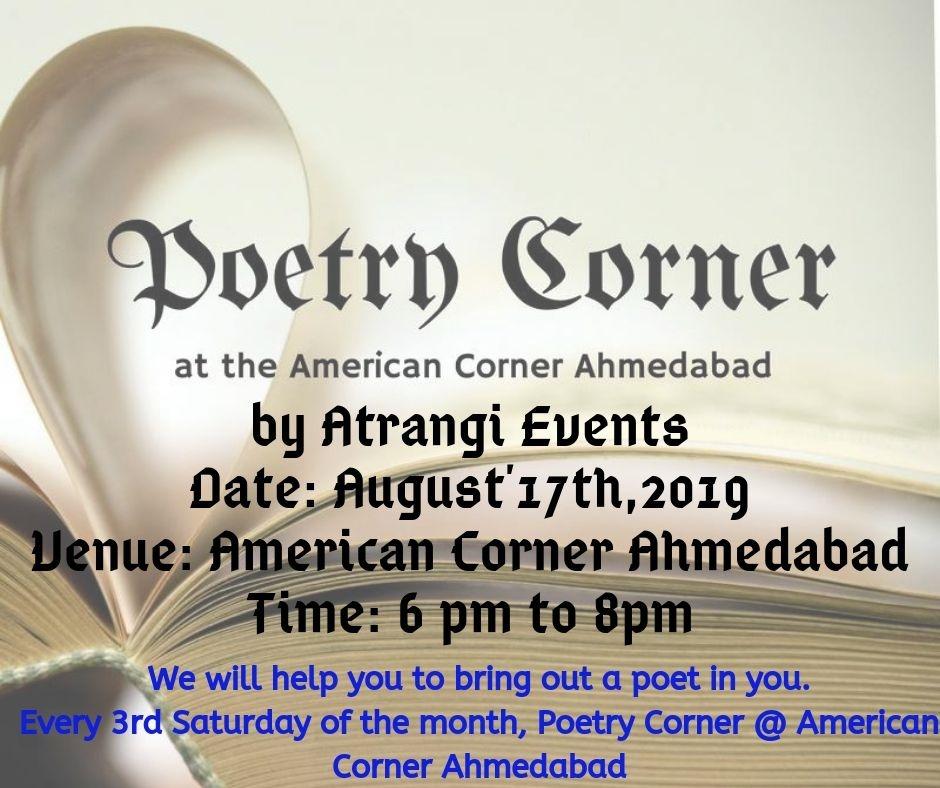 Poetry Corner At American Corner