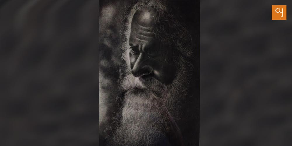 rabindranath-tagore-charcoal-by-siddharthas-father