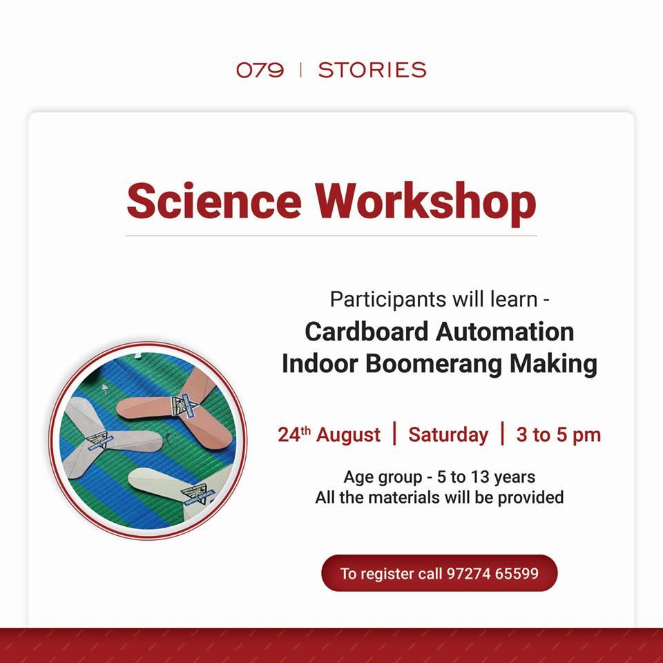 Science Workshop for Kids