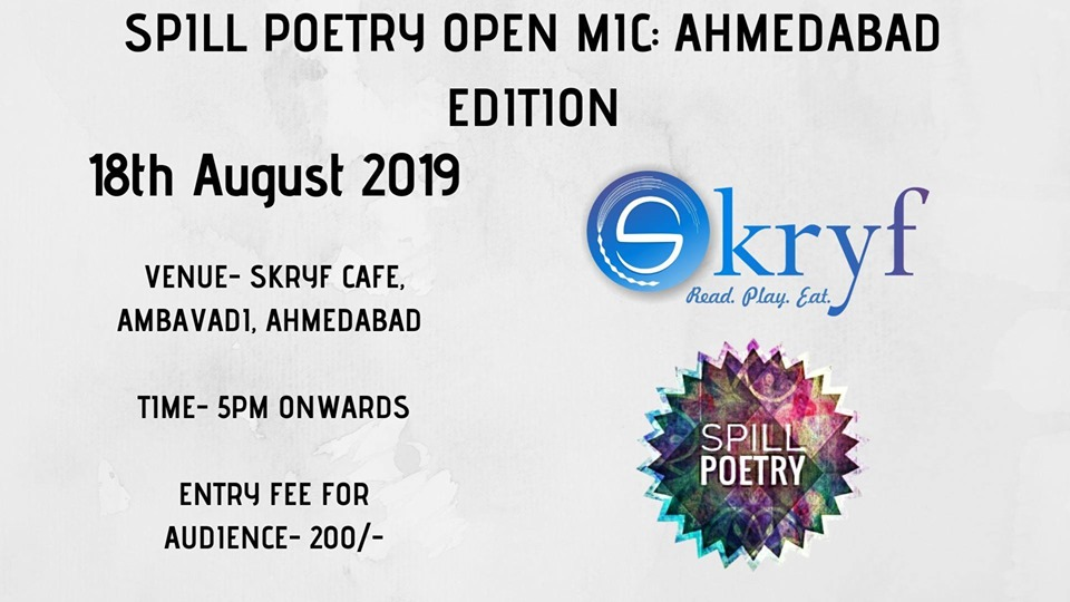 Spill Poetry Open Mic: Ahmedabad Edition