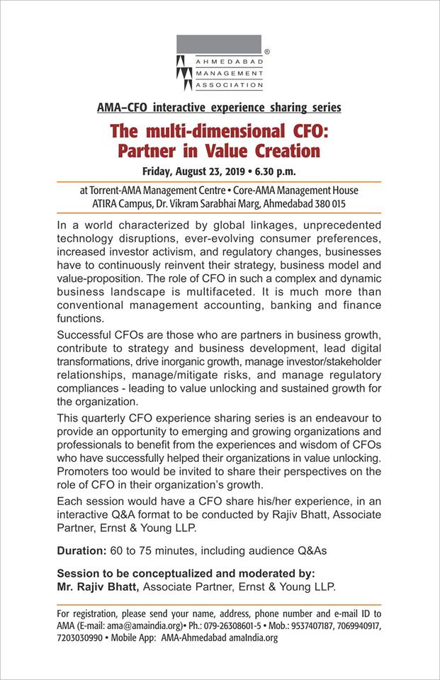 The multi-dimensional CFO: Partner in value creation