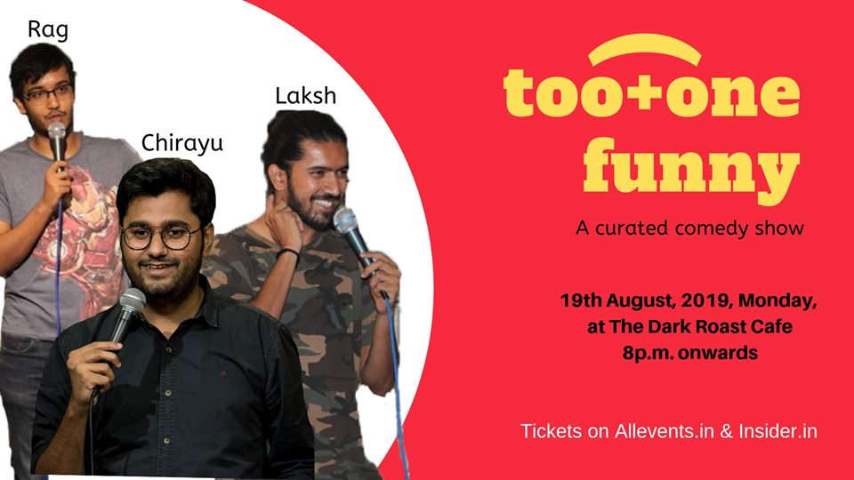 Too+one funny - A curated comedy show