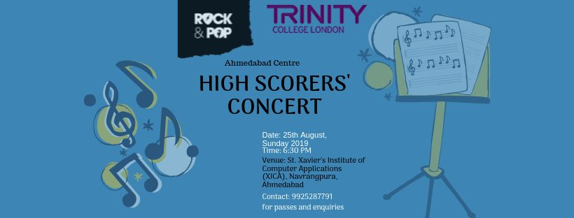 Trinity High Scorers' Concert (Ahmedabad Centre)