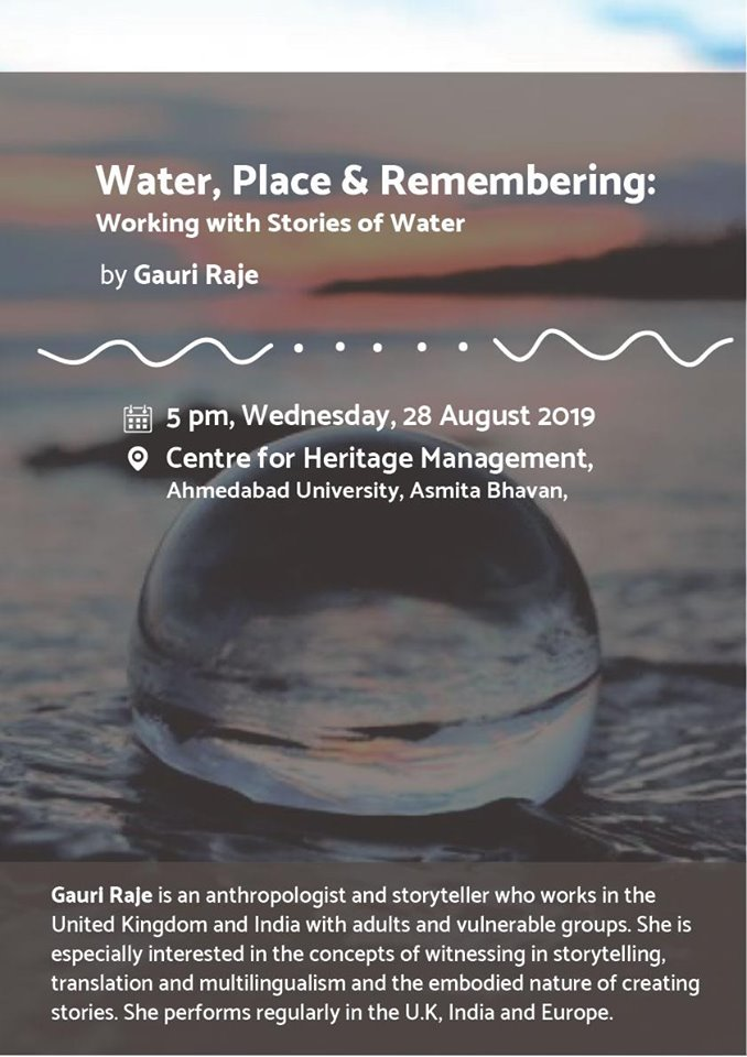 Water, Place and Remembering by Gauri Raje
