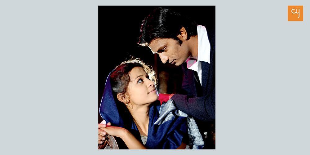 Abhinay Banker with Megha