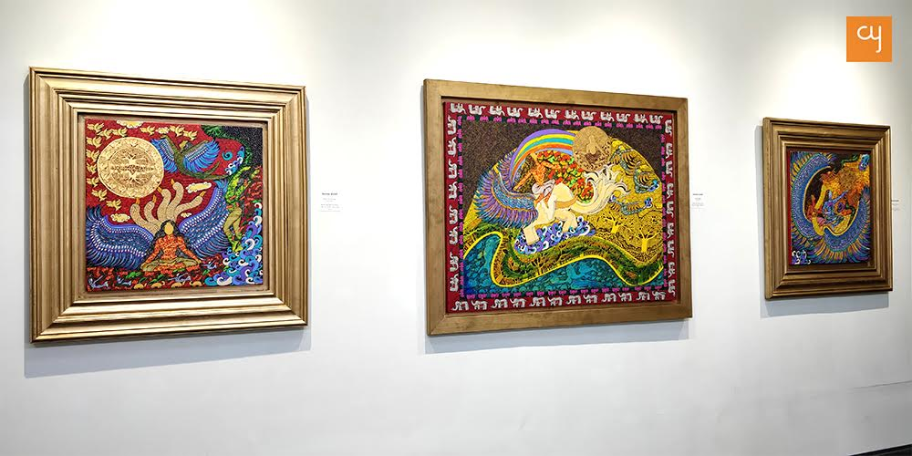 Paintings by Seema Kohli