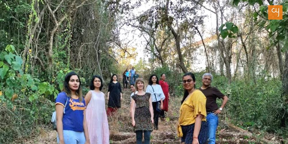 BOUND - Morning Walk at Writers Retreat, Goa