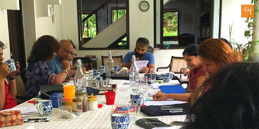 BOUND - Writers retreat Goa, Prayaag Akbar