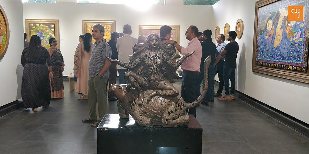 Sculpture Devi by Seema Kohli