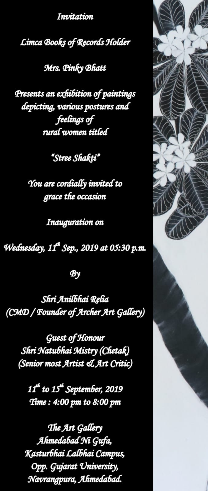 Stree Shakti - A Painting Exhibition by Pinky Bhatt