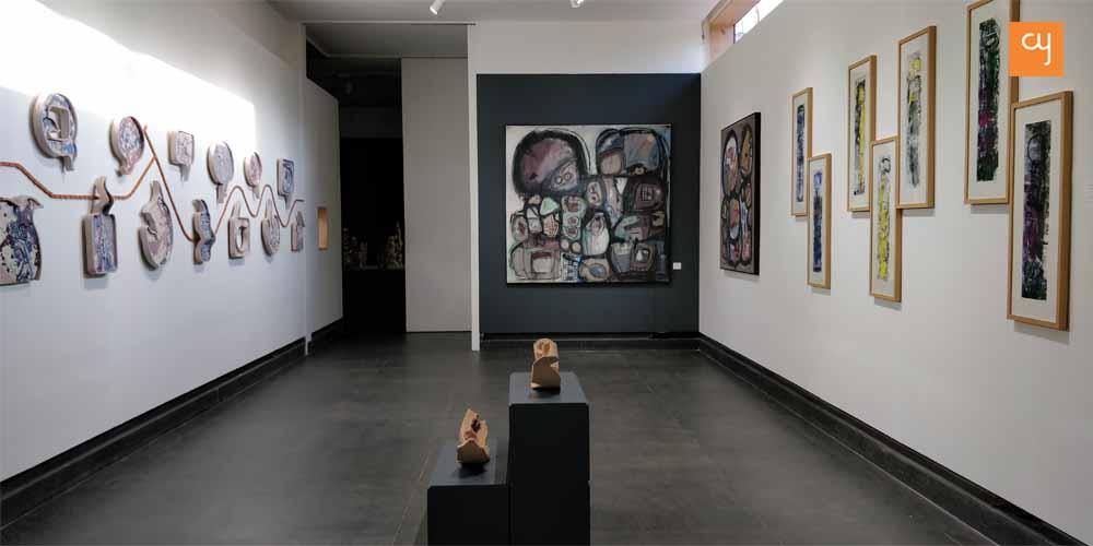 """Know… not this""exhibition at Amdavad ni Gufa"