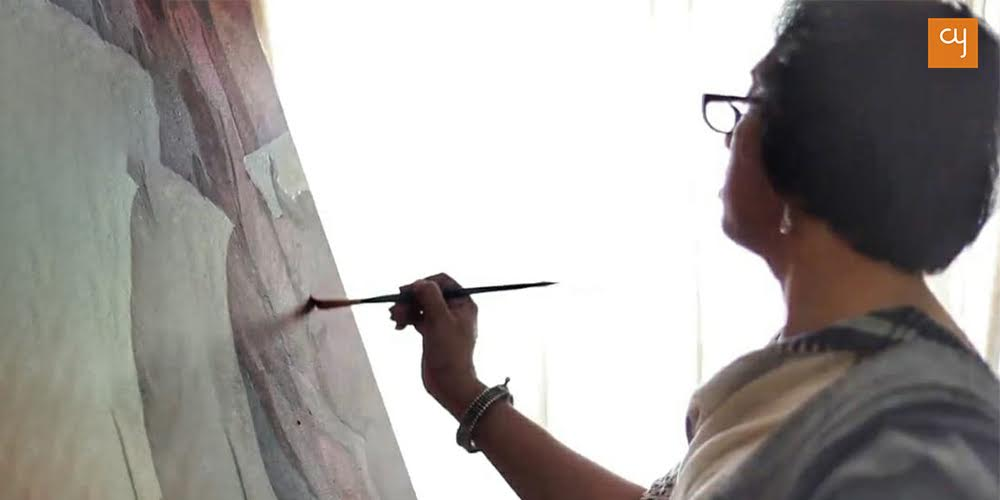 Understanding DEVI: The first painting exhibition by Pradipta Ray