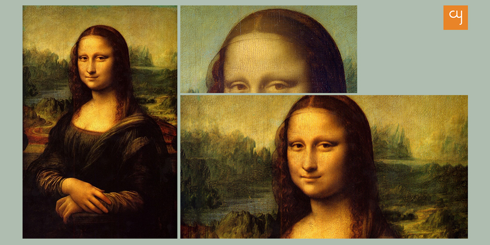 Mona Lisa Painting in sfumato