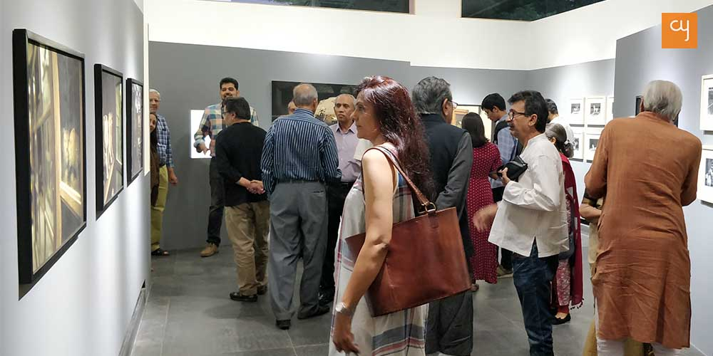 Visitors at BARK IS THE SONG OF THE DOG – Photography Exhibition by Anuj Ambalal
