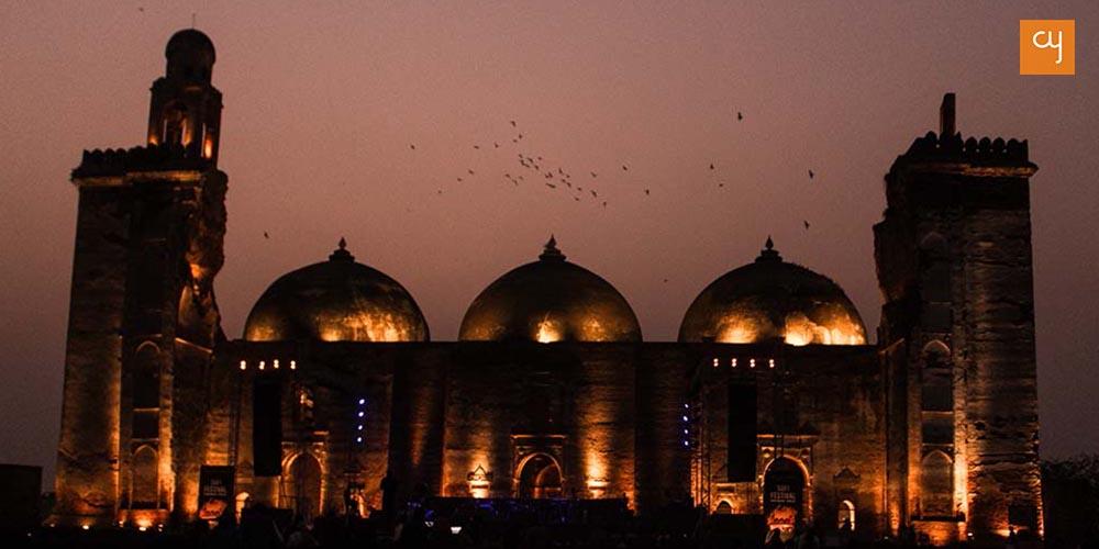 Khan Masjid at the 2017 Sufi Festival