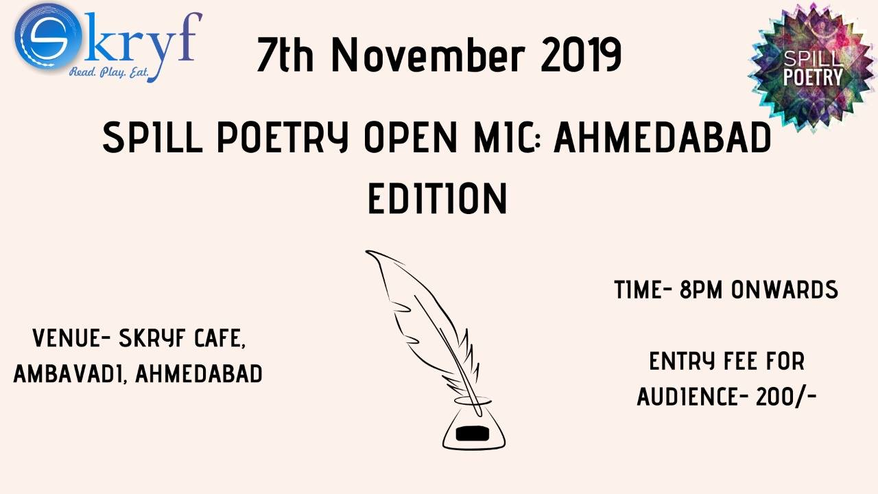 https://creativeyatra.com/wp-content/uploads/2019/11/Spill-Poetry-Open-Mic-Ahmedabad-Edition.jpg