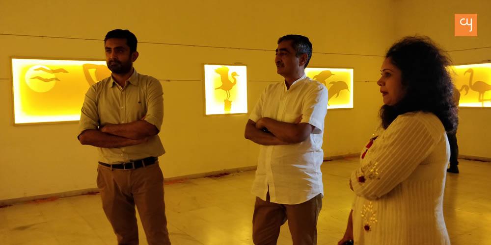 Manan Relia, Anil Relia and Chaula Doshi