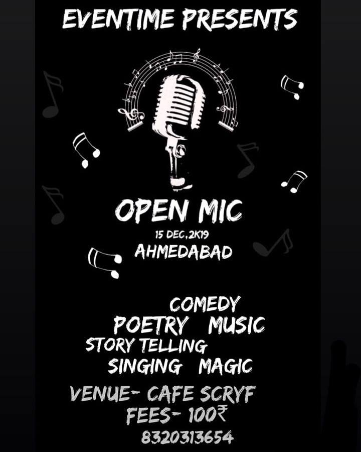 Eventime Open Mic