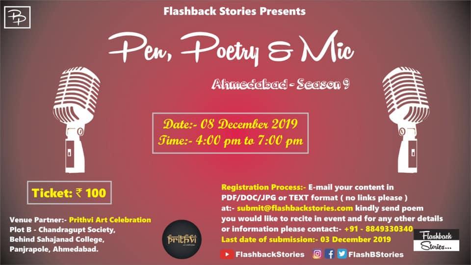https://creativeyatra.com/wp-content/uploads/2019/12/Pen-Poetry-Mic-Ahmedabad-Season-9.jpg