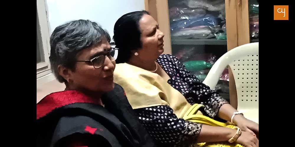 Meenakshi Chandarana and Vandana Shantu indu