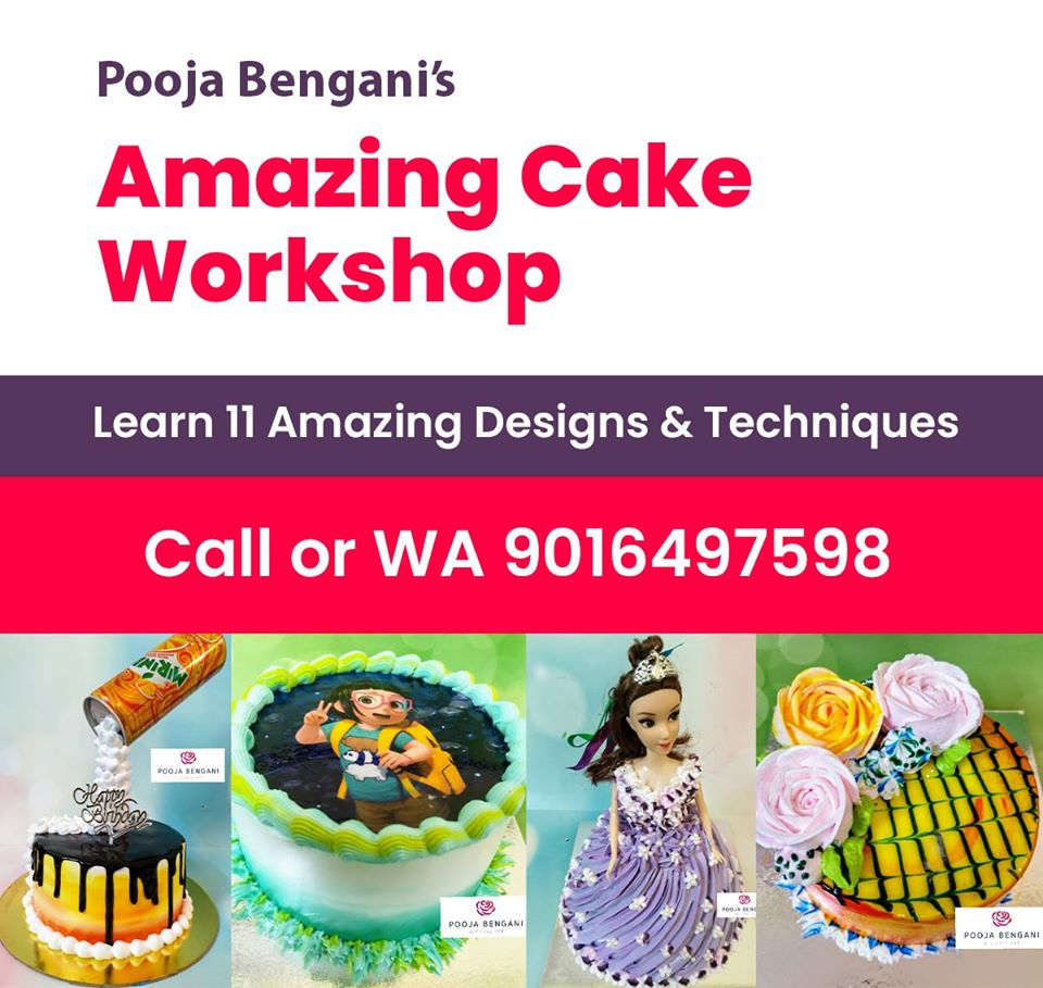 Amazing Cakes Workshop - Ahmed ...