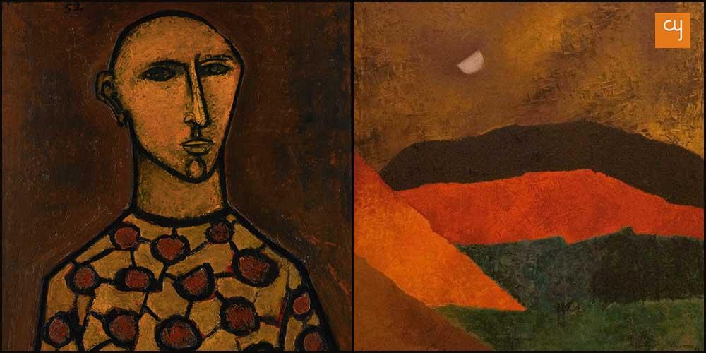 Art work by Akbar Padamsee