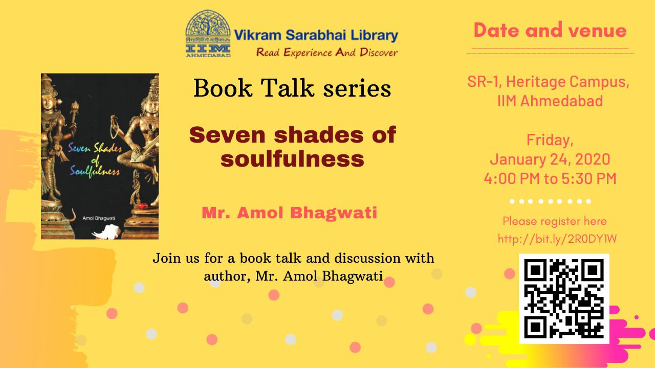Book Talk Series - Seven Shade ...