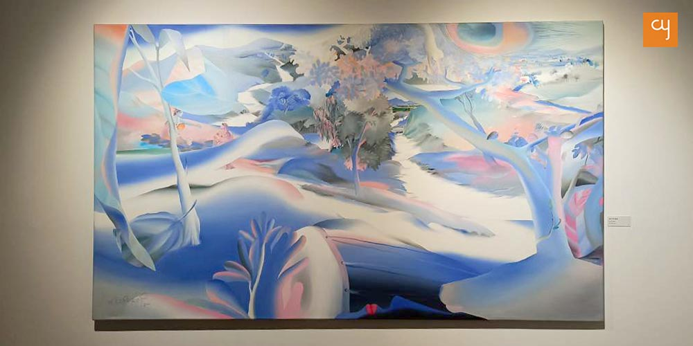 Art show by Nabibaksh Mansoori