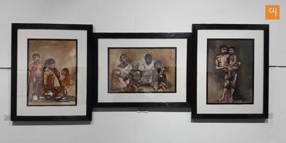 Tatpashchat art show in Ahmedabad