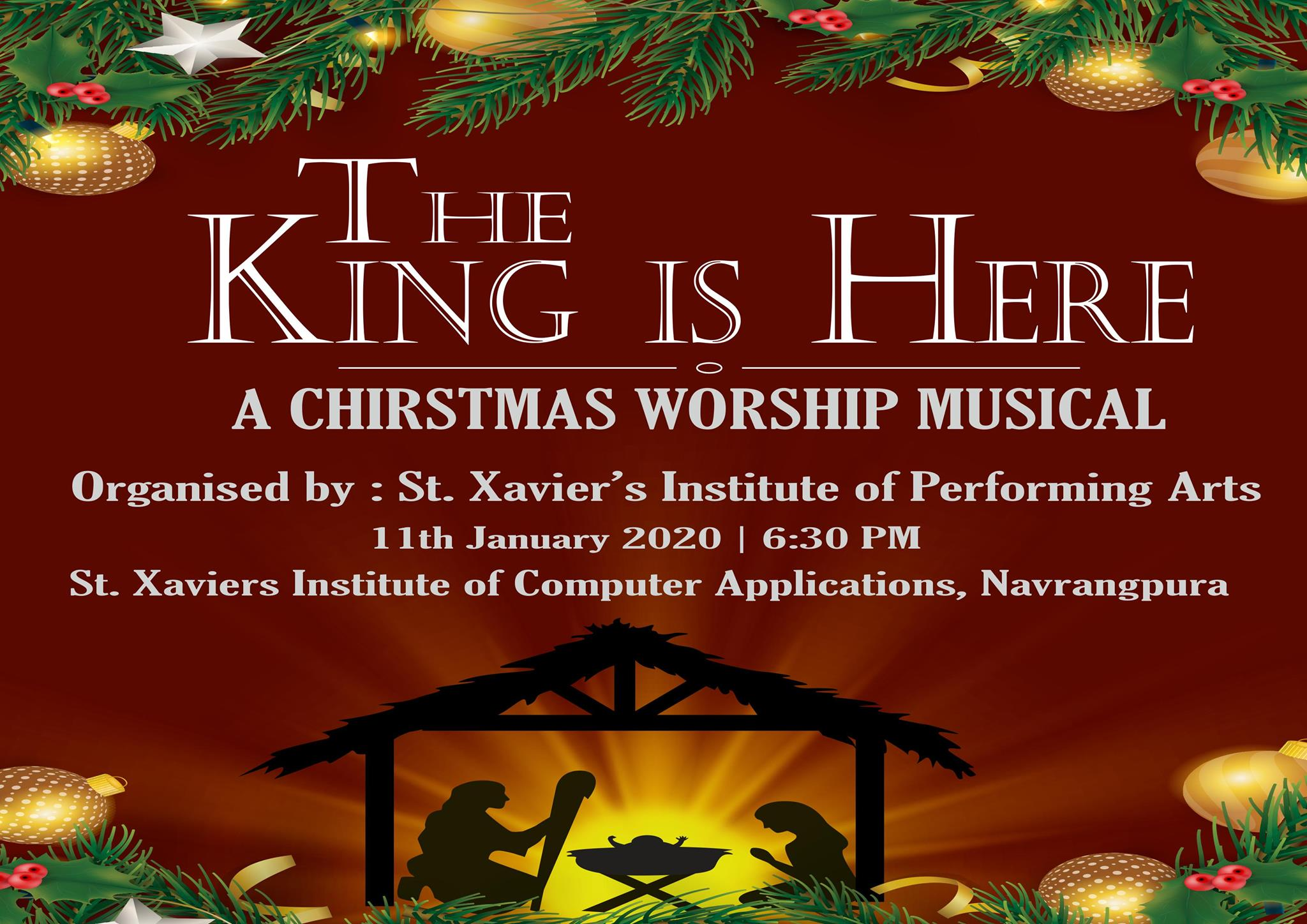 Kool 108 Stop Christmas Music 2021 The King Is Here A Christmas Worship Musical Creative Yatra