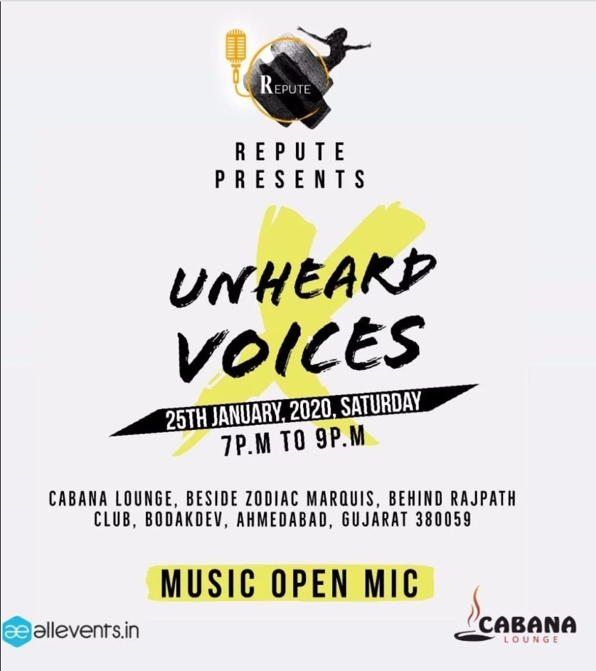 Unheard Voices: Music Open Mic